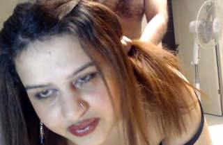 Beautiful Desi bhabi cries after fucked so hard by husband