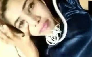 Cute Punjabi Girl Showing Boobs and Pussy in Video Call With Clear Tlak