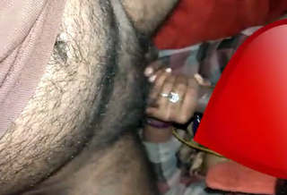 Bhabhi giving blowjob and hubby showing her ass