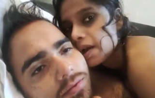 Indian Couple Having sex Hindi talk