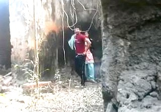 Desi tamil baby fucked in jungle happy sex